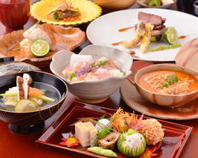 コース料理10000円